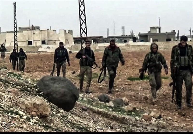 ارتش سوریه در حومه حلب/3
