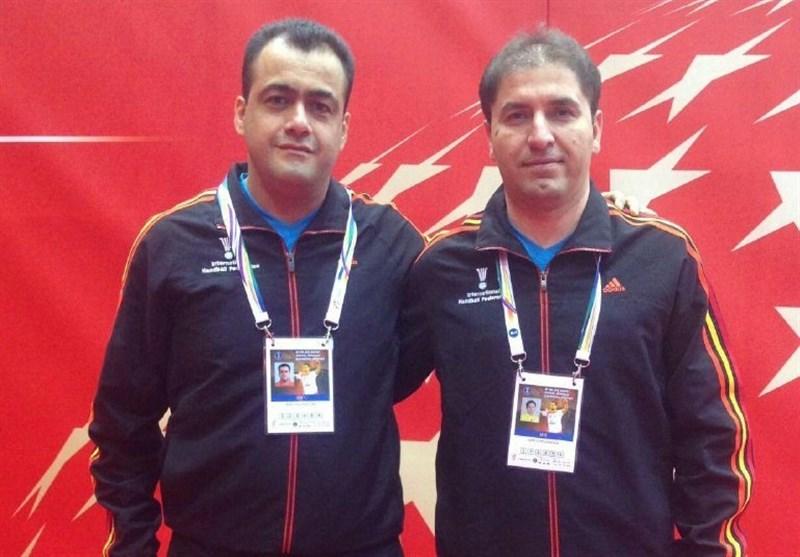 Iranian Referees Officiate at World Handball C'ship