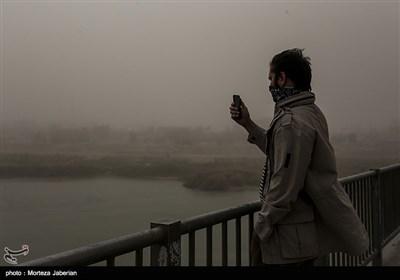 گرد و غبار شدید در اهواز