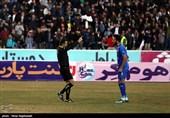 دیدار تیمهای فوتبال پدیده و استقلال - مشهد