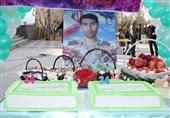جشن تولد یک شهید امنیت+عکس