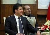 تاکید نچیروان بارزانی بر نقش مهم ایران در عراق / هماهنگی اربیل- بغداد در موضوع تحریم های آمریکا