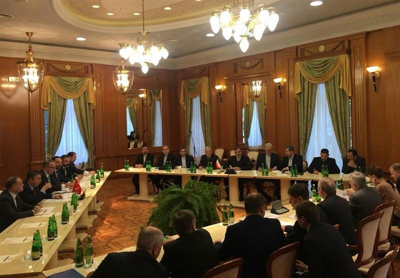 انعقاد الاجتماع الثلاثی للدول الضامنة لمؤتمر الحوار الوطنی السوری فی سوتشی