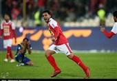 لیگ برتر فوتبال|پرسپولیس با برتری یک گله به رختکن رفت
