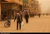 خوزستان| میزان غلظت گرد و غبار در خرمشهر 840 میکروگرم بر متر مکعب رسید