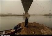 """""""گرد و خاک"""" 10 شهر خوزستان را احاطه کرد؛ آسمان مملو از ریزگرد شد"""
