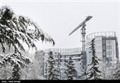 بارش برف و افت محسوس دما در نیمه شمالی