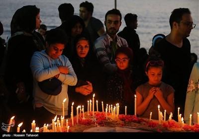 Commemoration Ceremony Held on Kish Island for Iranian Sailors