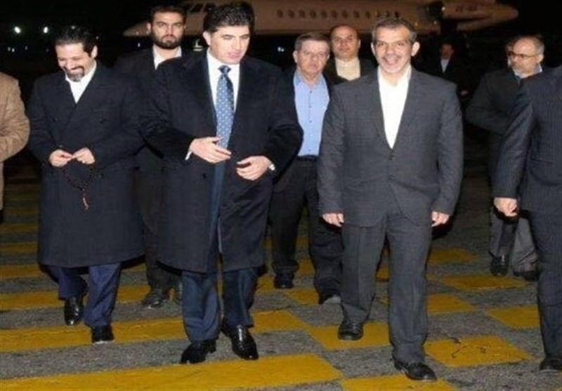 کرد وزیراعظم بارزانی کے ایران دورے کا شیڈول