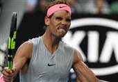 تنیس آزاد استرالیا |نادال به مرحله یک چهارم نهایی رسید