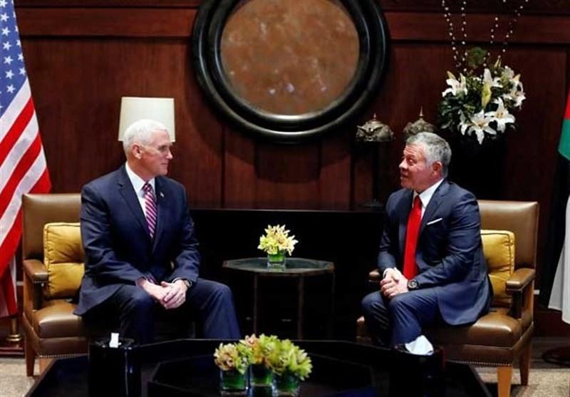 جزئیات دیدار معاون ترامپ با ملک عبدالله در اردن