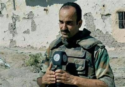شهادت خبرنگار اعلام الحربی سوریه در دمشق+عکس