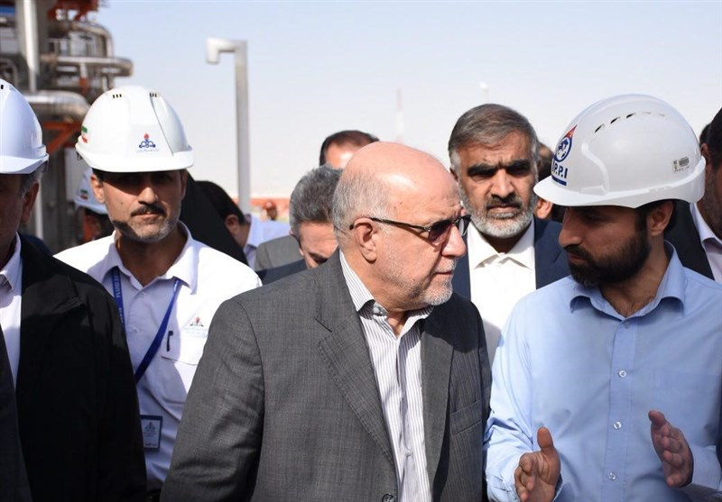 وزیر نفت: 4.5 میلیون تن اتان در پارس جنوبی تولید میشود