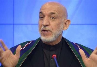 کرزی: بمباران آمریکا بحران افغانستان را پایان نمی دهد