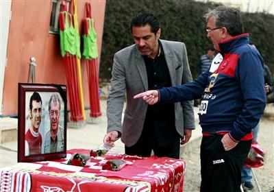 سرخپوشان یاد سرطلایی فوتبال ایران را گرامی داشتند