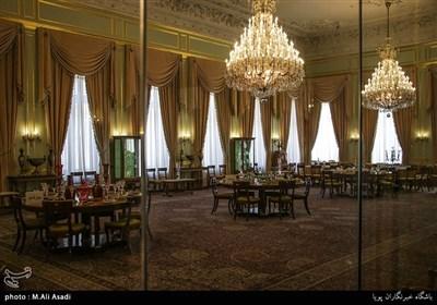 تالار پذیرایی بزرگ و آخرین مراسمی که در اینجا انجام شد به افتخار کارتررییس جمهور اسبق آمریکا و ملک حسین پادشاه اسبق اردن بوده است.
