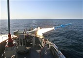 Iran Launches Long-Range Naval Missile in Drill