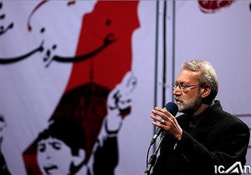 لاریجانی: الکیان الصهیونی یشکل العقبة الدائمة امام الامن القومی لکافة الدول