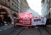 تظاهرات ضد ترامپ در سوئیس