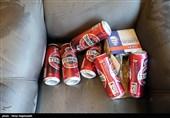 مشهد|10 هزار و 800 قوطی مشروبات الکلی کشف شد