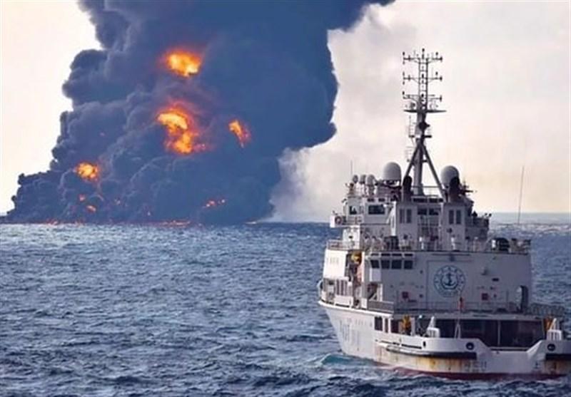 لکه نفتی سانچی به سواحل ژاپن رسید؟
