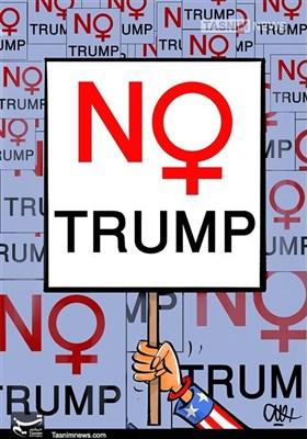 ٹرمپ کیخلاف امریکی خواتین کے مظاہرے