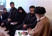 دیدار امام خامنه ای با خانواده سردار شهید علی ییلاقی+فیلم