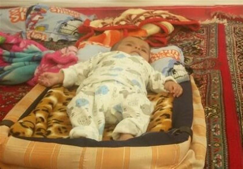 نوزاد یخ زده در کرمانشاه