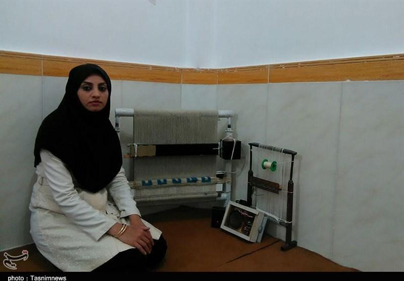 ساخت دار قالی هوشمند برای نابینایان توسط مخترع جوان کامیارانی