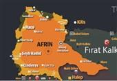 بمباران شدید عفرین توسط ارتش ترکیه