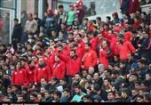 حاشیه دیدار پرسپولیس- الجزیره|درخواست هواداران از گرشاسبی برای جدایی بیرانوند و اشک شوق خلیلزاده