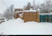 مناطق ساحلی و جلگهای مازندران پوشیده از برف میشود