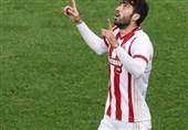 تبریک تولد ملیپوش ایرانی توسط باشگاه المپیاکوس + عکس