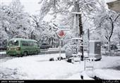 برف در تهران|آخرین وضعیت بارشها در نیمه شمالی کشور/تهران یخ میزند
