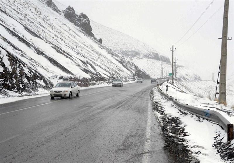 کرمانشاه| جادههای کرمانشاه لغزنده هستند