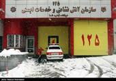 برف در تهران|آماده باش دستگاههای خدمات رسان در تهران
