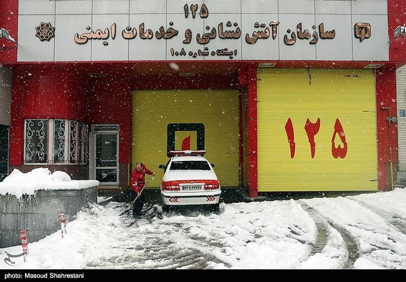 زمستان برفی تهران