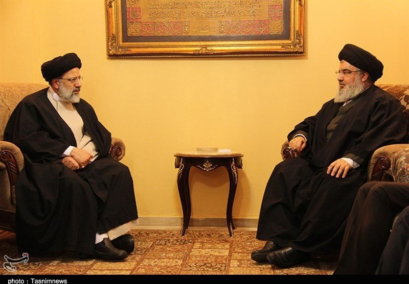 Top Iranian Cleric Meets Nasrallah in Lebanon