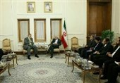 دیدار ظریف و نماینده سازمان ملل در امور عراق