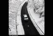 بارش برف در 4 محور کهگیلویه و بویراحمد؛ جادههای اصلی باز است