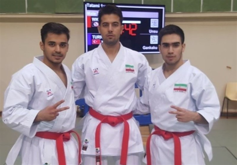Iran Team Kata Wins Bronze at Karate1 Premier League Paris Open
