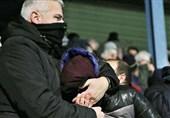 استفاده پلیس یونان از گاز اشکآور در بازی تیم انصاریفرد و حاجصفی + تصاویر
