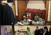 حضور تولیت آستان قدس رضوی بر سر مزار شهدای مقاومت در لبنان