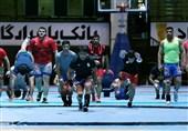 آخرین مرحله اردوی تیم ملی کشتی آزاد برگزار میشود
