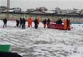 دربی مازندران برای دومین روز متوالی لغو شد + تصاویر