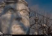 جشنواره مجسمههای برفی در بوستان پردیسان +تصاویر