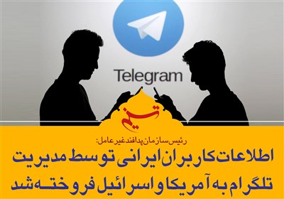 """""""تلگرام"""" بستر زیست تروریستها و جریان نفوذ در کشور"""