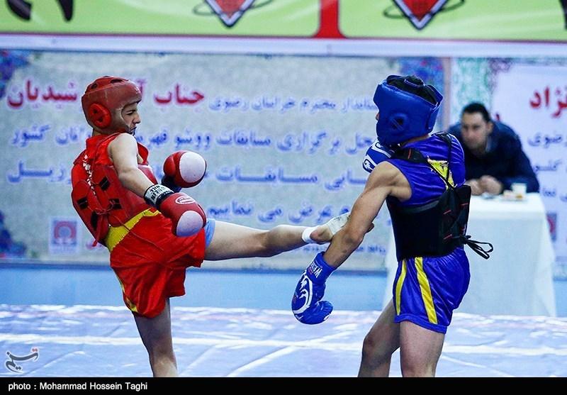 ووشوی جام پارس - گرگان| فینالیستهای 4 وزن ساندا مشخص شدند