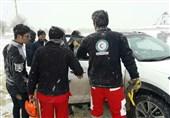 هلال احمر خوزستان به 39 خانوار آسیب دیده از برف و کولاک امداد رسانی کرد