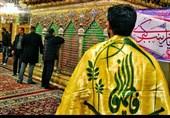 عزاداری رزمندگان فاطمیون در حرم حضرت رقیه(س)+فیلم